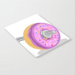 Donut Weight Artwork Notebook