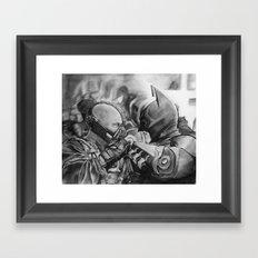 TDKR  Framed Art Print
