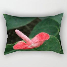 Anthurium Flower Rectangular Pillow