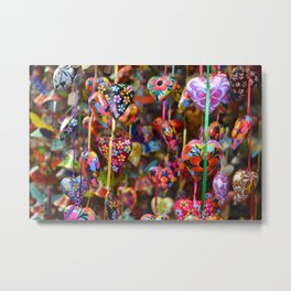 Colors of Mexico Metal Print