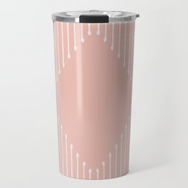 Geo / Blush Travel Mug