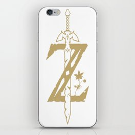 The Legend of Zelda Breath of the Wild iPhone Skin