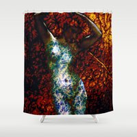 into the wild Shower Curtains featuring Wild by Stephen Linhart
