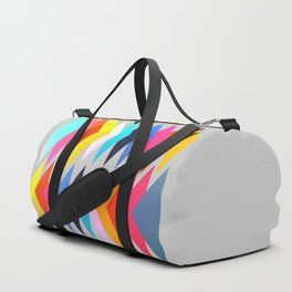 Multicolored triangles Duffle Bag