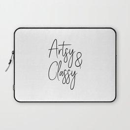 Artsy & Classy Laptop Sleeve