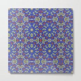 Colorful Ethnic Design Metal Print