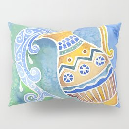 Zodiac Collection: Aquarius Pillow Sham