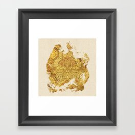 Fine Art of Growing Plants in the Ancient Nature Framed Art Print