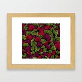 Happy abstract: Jungle Nr:02 Framed Art Print