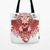 friday Tote Bags featuring Friday by Tshirt-Factory