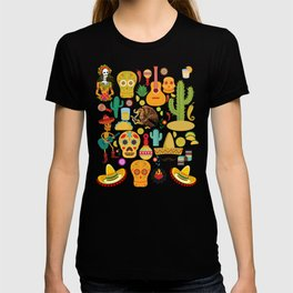 Fiesta Time! Mexican Icons T-shirt