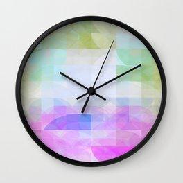 Retro Circles OO Wall Clock