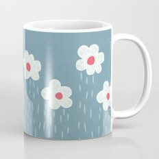 Rainy Flowery Clouds Mug