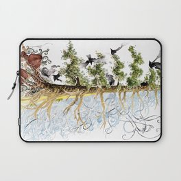 The Woods and The Water Laptop Sleeve