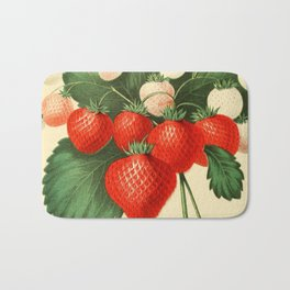 HOVEYS SEEDLING STRAWBERRY. Bath Mat