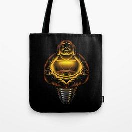 Buddha Lamp Tote Bag