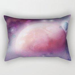 Pink Space Dream Rectangular Pillow