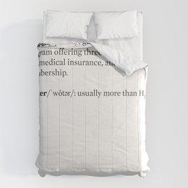 theNewerYork Glossary #1 Comforters