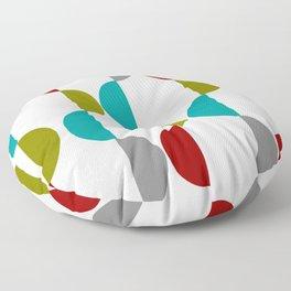 Half Moons Mid-Century Floor Pillow