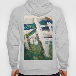 Polar Bear Going Home Hoody