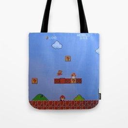 Mario Likes A Mushroom Tote Bag