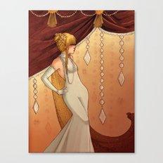 Elegant Diamonds Canvas Print