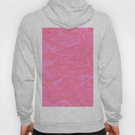 Pink Liquid Marble Hoody