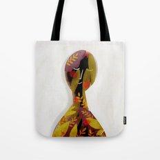 introvert portrait Tote Bag