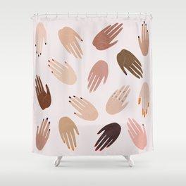 GRRRL Shower Curtain
