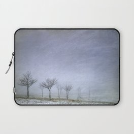 Stormy wheather Laptop Sleeve
