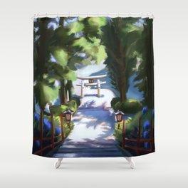 Kaze Shower Curtain