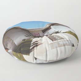 The Pink Door - Palm Springs Floor Pillow