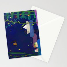 Attic cat Stationery Cards