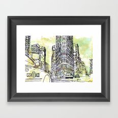 175 Fifth Avenue  Framed Art Print