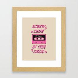 Screw Tape In The Deck Framed Art Print