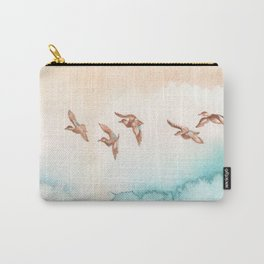 Blue-Winged Teals Carry-All Pouch