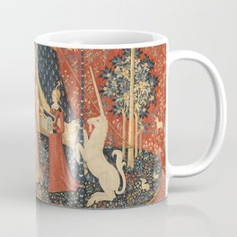The Lady And The Unicorn Coffee Mug