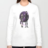 yaoi Long Sleeve T-shirts featuring Skelender by Jackce