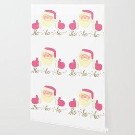 Santa with thumb Wallpaper