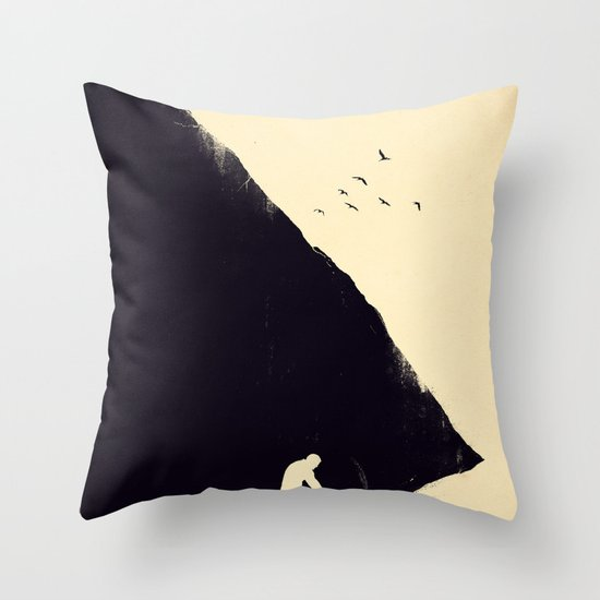 Freedom Seeker Throw Pillow