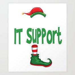 elf itsupport Art Print