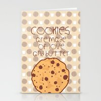 cookies Stationery Cards featuring Cookies by Mim sh.