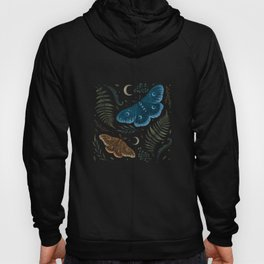 Moths and Ferns Hoody