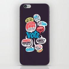 Vote! iPhone & iPod Skin
