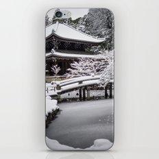 Kyoto Winter 2015 iPhone & iPod Skin