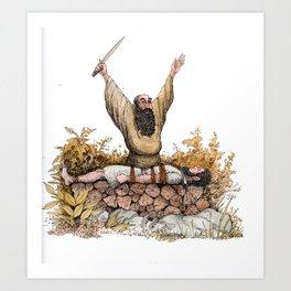 Abraham's Test Art Print