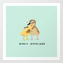 Hugly Ducklings Kunstdrucke