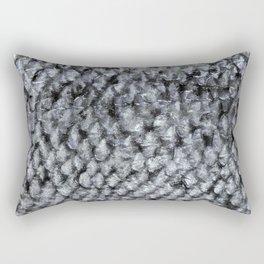 Silver Fish SKIN Rectangular Pillow