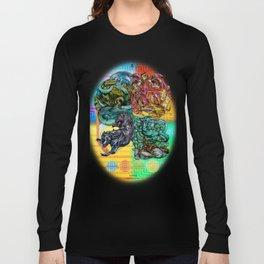 Mysticx & Magick: The Japanese Elemental Gods - Art Cover Long Sleeve T-shirt