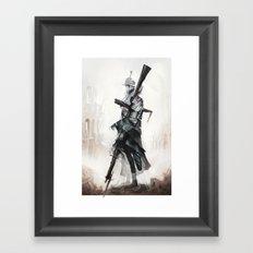 Apparition of War Framed Art Print
